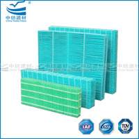 High-speed Diffusion Spunlace Evaporative Wick Filter for Air Cooling Fan