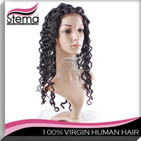 natural color thick wholesale price with custom virgin peruvian hair silk top full lace wig 7a