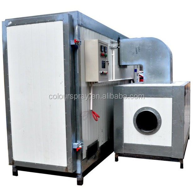 Electrostatic Powder Gas Heating Oven