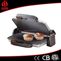2000w square electric contact bbq grill 4 in 1 from factory directly