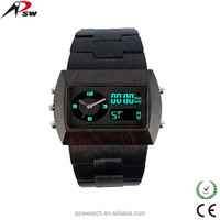2014 vogue watch luminous LED digital watch 100% healthy we wood watches