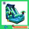 hot sale palm tree big inflatable slides, inflatable water slides for sale