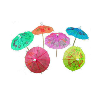 hot sale high qualityumbrella toothpick with logo printed