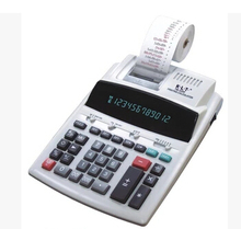 Portable Printing Calculator with Clock and Calender
