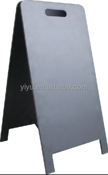 Frameless blackboard with handle