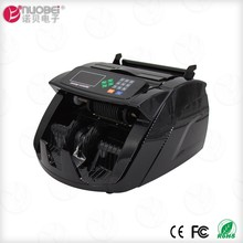 UV MG cash note money counting machine with fake detection