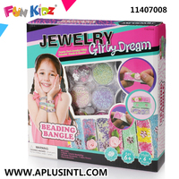 Kids Craft DIY Girly Dream Beading Bangle Kits