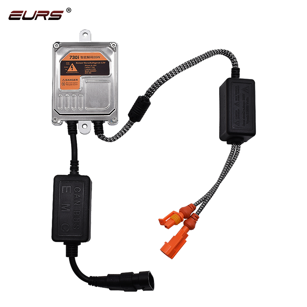 1pcs Fast Bright Fast Start Error Free Canbus 12V AC 55W Canbus <strong>HID</strong> Xenon Ballast