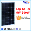 Monocrystalline photovoltaic cell 100W solar panel