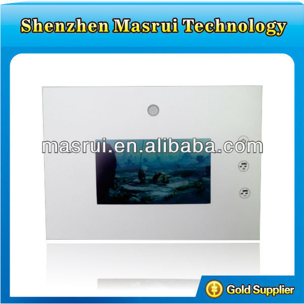 3.5 Inch video Greeting Card with Passive Infrared Detection