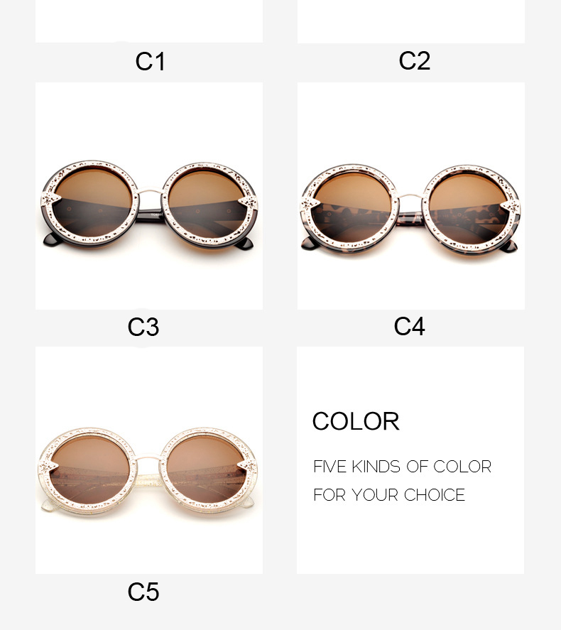 New 2015 Retro Metal Round Sunglasses Vintage Men Fashion Coating Sunglass Women Brand Oculos Man CC0127