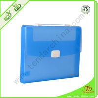 PP File box with handles for school children