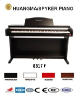 HUANGMA HD-8817P upright digital piano for mp3 music player mp3 mp4 skull earphones