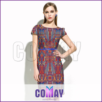 Factory price China 2015 knee-length latest indian dress designs for women