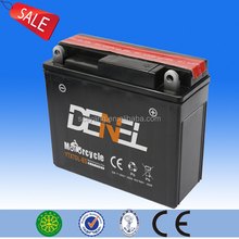 maintenance free dry charged battery 12v 7ah street bike battery(YTX7DL-BS)