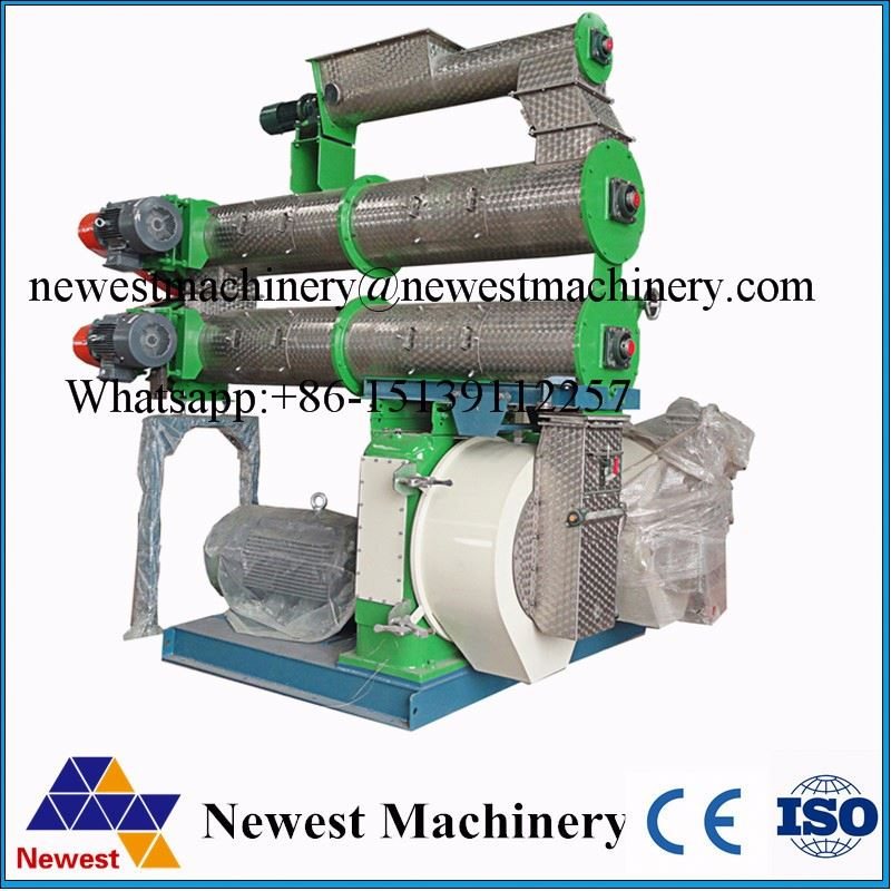 High quality chicken feed pellet maker/fish feed pellet maker/biomass pellet machine