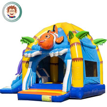 Commercial china disco dome cheap outdoor inflatable air farm jumping moon trampoline house castle combo kids inflatable bounce