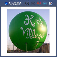 green hanging helium balloon, inflatable advertising balloon