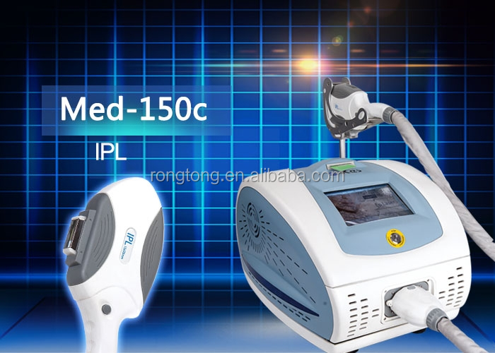 Med-150c hot sell high frequency machines for skin portable laser facial hair removal machine