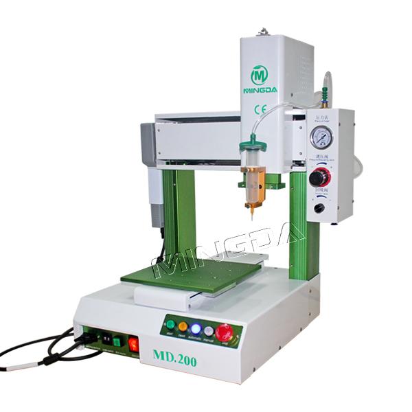 Automated Wood Glue Dispenser ~ High precision mingda ab glue dispensing machine liquid