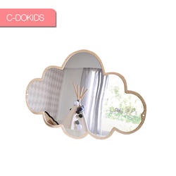 Acrylic Children's lovely Multi-dimension mirror home wall decoration
