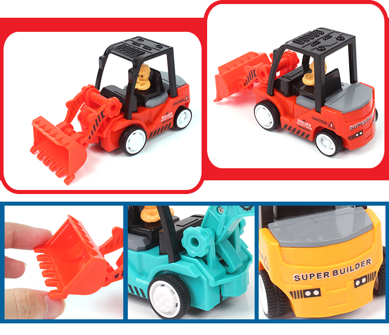 New arrival tractor excavator truck cheap bulldozer toys for kids