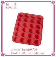 Silicone Baking Cups Cupcake , Non-stick & Reusable Muffin Cups Molds