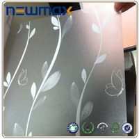 Removable Window Transparent Decal Adhesive PVC Viny Window Decoration Sticker