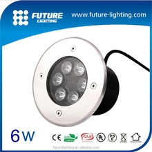 Alibaba hot sale 6W high power ip67 led light for floor mounted, underground light, led inground light