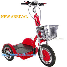 2015 new 3 wheels scooter stand up electric scooter handicap stable quality