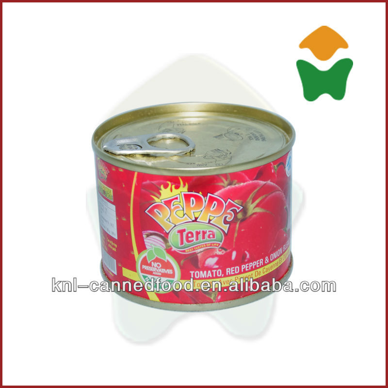 High Quality tomato paste production 210gx48tins