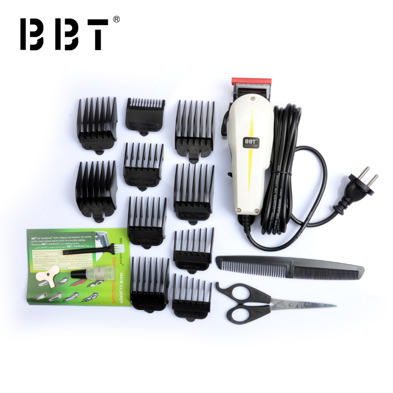 Hot Sale!2016 new design waterproof hair clipper 5 star BC-129