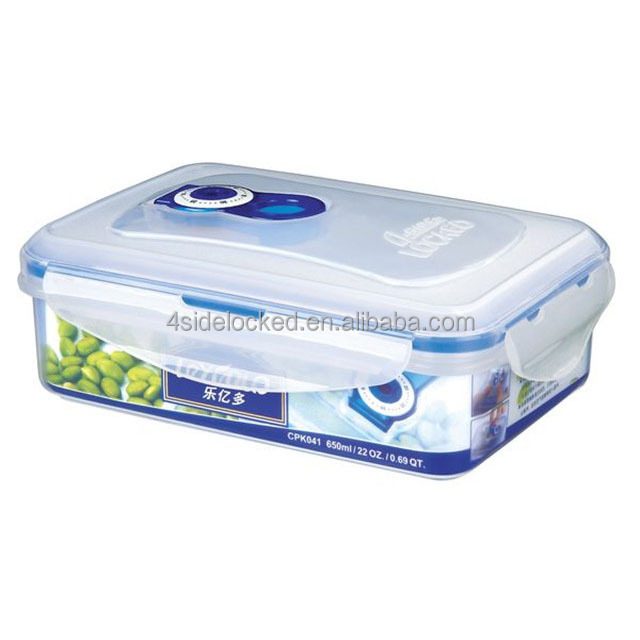 Vacuum rectangle plastic storage boxes walmart