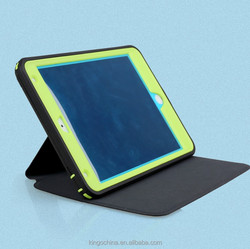 good quality Leather flip table case for iPad