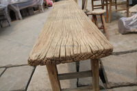 Out Door Buffet table Chinese Antique Furniture Reclaimed Wood Furniture Old Pine Made Long Rustic Table