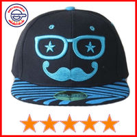 Cheap flat bill caps for children,funny snapback caps for kids,wholesale kids flat bill caps (SU-HP25255)