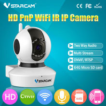 2014 Newest ONVIF 720P P2P 64GB SD card acoustic wave wifi setting wireless ip pinhole camera no computer needed