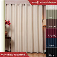 New Curtains Style For 2016 Thermal Insulated Hotel Blackout curtain design fabric, Back Tab, Rod Pocket