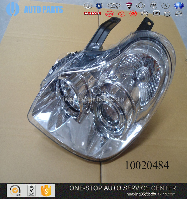 BYD SPARE PARTS 10020484 FRONT LEFT HEADLIGHT ASSY accessories. car toyota spare parts
