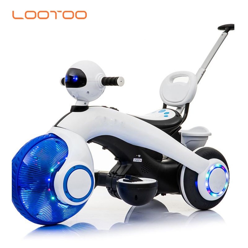 Low price rechargeable battery powered operated toy blue kids electric motorcycle for little boy children