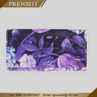 PRENSITI manufacturers produce magic custom print leather wallet for lady
