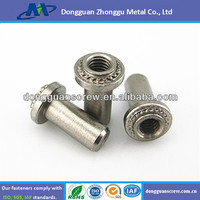 BS-0420-2 stainless steel permanent fasteners