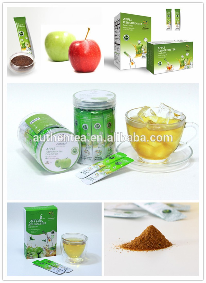 High Quality Natural Apple Powder instant tea premix