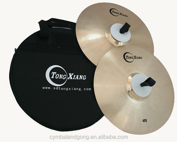 High quality Zhangqiu marching cymbal b20 cymbal