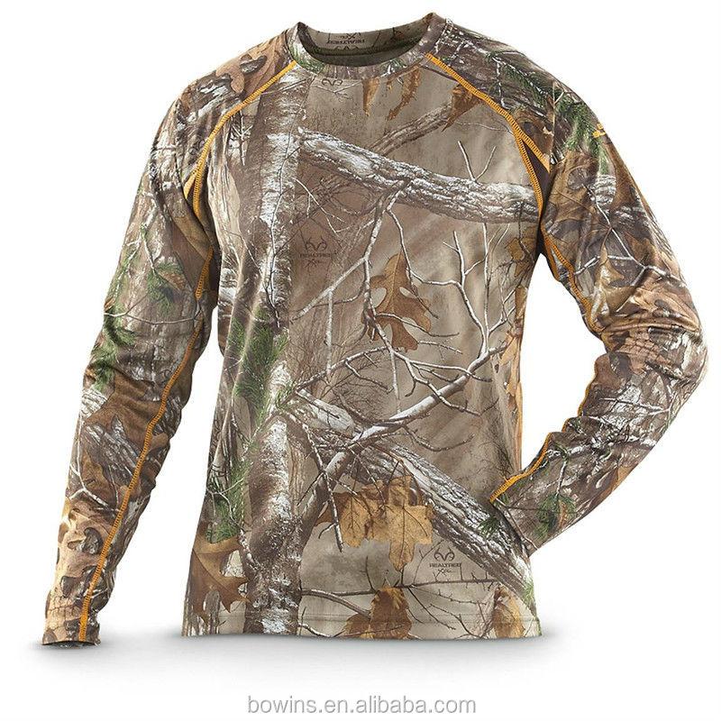 Wholesale Custom Men Hunting Long Sleeved Shirt Buy Long