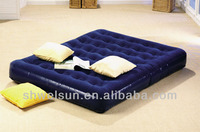 Fashionable Inflatable Air Bed, high quality PVC Airbed, air mattress
