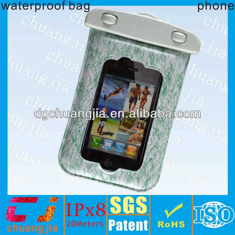 Wholesale fashionable tpu waterproof cell phone case