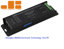4CH DC12-24V rgbw dmx controller DMX 512 Decoder, LED DMX512 controller 4 Channel , RJ45 for RGBW LED strip lights DE8036