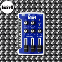 Just Mixer Blue music mixer 3 channel home studio by Taiwan