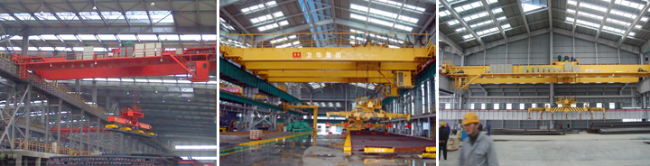 Lifting Industrial Insulation Electric Magnet Bridge For Scrap Charging 32 Ton Double Girder Electro-magnetic Overhead Crane